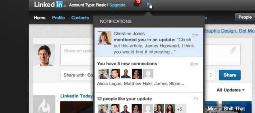 Breaking News – Arrivano le menzioni su Linkedin