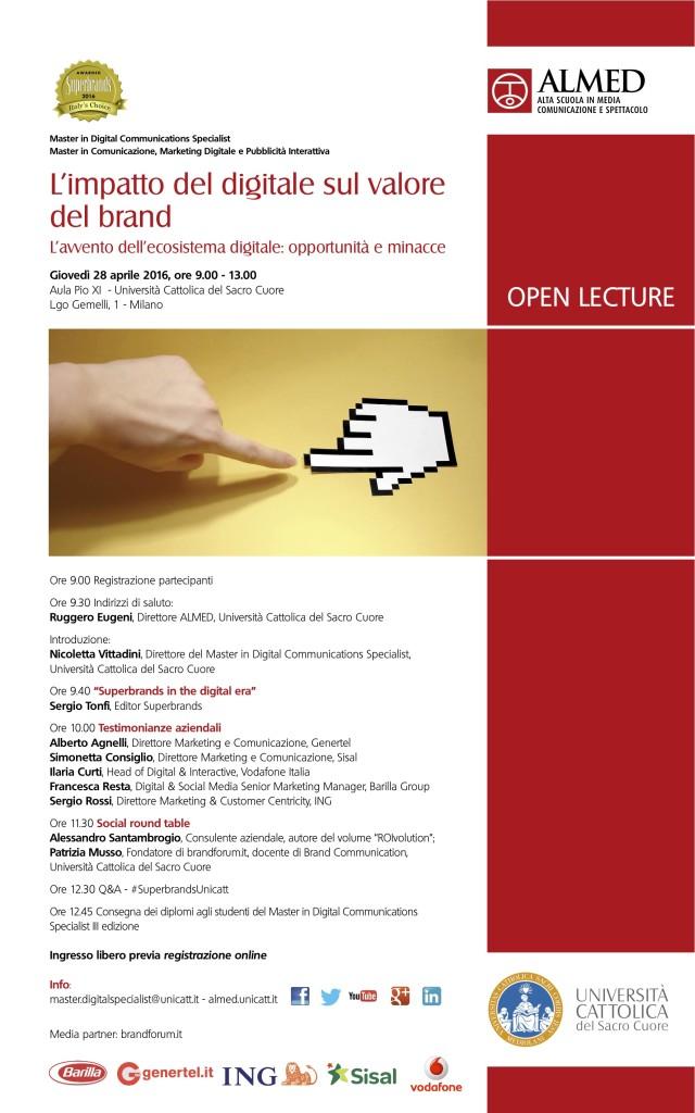 Università Cattolica Impatto del digitale sul valore di brand - Alessandro Santambrogio